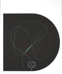 Finis… V, sérigraphie, 60 x 50 cm, 2006
