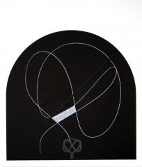 Finis… IX, sérigraphie, 60 x 50 cm, 2006
