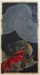 Nouvelle tauride, affiche peinte, 100 x 55 cm, 2010