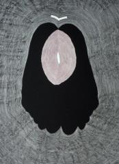Cul par-dessus tête, sérigraphie, 38 x 28 cm, 2010