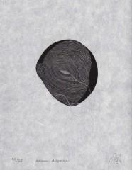 Ariane disparue, gravure, 27 x 21 cm, 2012