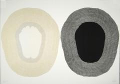 Pradaksina 1, sérigraphie, 70 x 100 cm, 2006