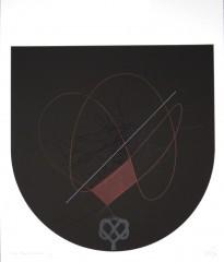 Finis Gloriæ Mundi I, sérigraphie, 60 x 50 cm, 2006