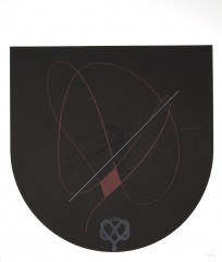 Finis… III, sérigraphie, 60 x 50 cm, 2006